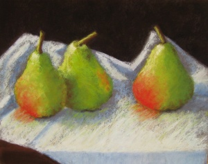 """Pears"", soft pastel, 2014"