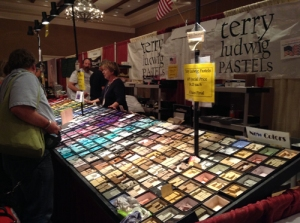 Terry Ludwig booth at 2015 IAPS convention.